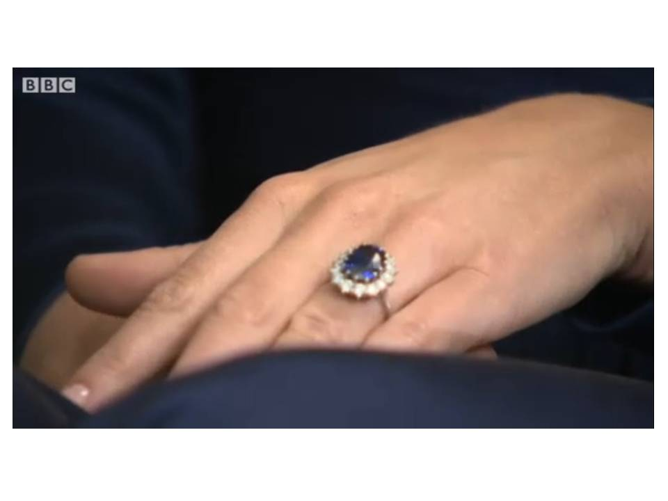 diana kate s engagement ring the royal post