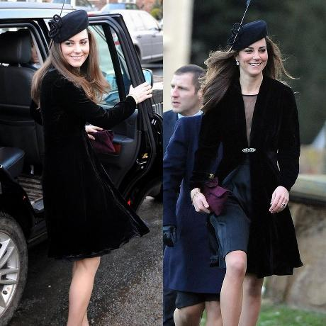 d55376348021 What Kate Was Wearing When She FIRST Met the Queen – The Royal Post