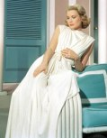 Grace Kelly relaxes poolside in High Society