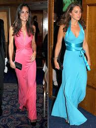 Kate at the Boodles Boxing Ball in 2008 (left) and 2006 (right) via People Magazine