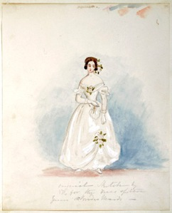 Queen Victoria's Bridesmaids & Thoughts of her Wedding