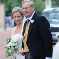 HRH The Duke of Gloucester and his daughter The Lady Rose Windsor