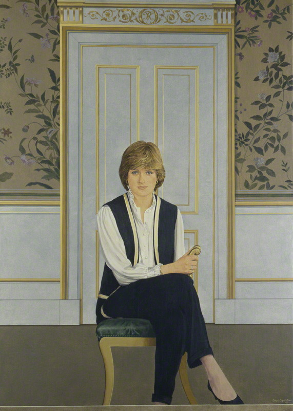 NPG 5408; Diana, Princess of Wales by Bryan Organ