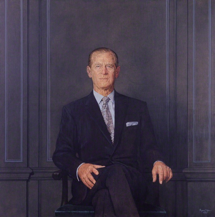 NPG 5698; Prince Philip, Duke of Edinburgh by Bryan Organ