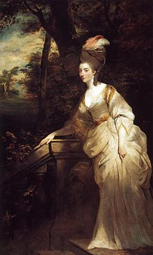 Georgiana, Duchess of Devonshire by Sir Joshua Reynolds, c. 1775, The Devonshire Collection