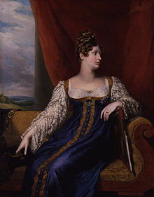A portrait of Charlotte by George Dawe, 1817