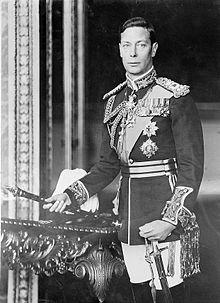 King George VI  circa 1940-46