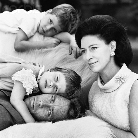 HRH Princess Margaret and Family