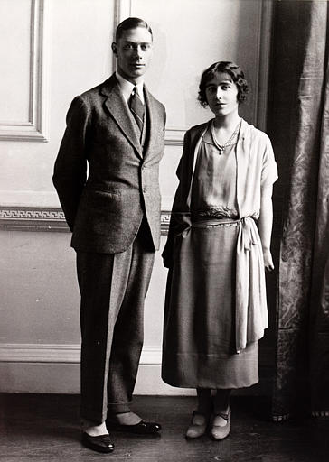 Lady Elizabeth and Prince Bertie January 18, 1923 (via forum.alexanderpalace)