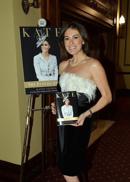 Katie Nicholl at her book's launch party (Via Zimbio)