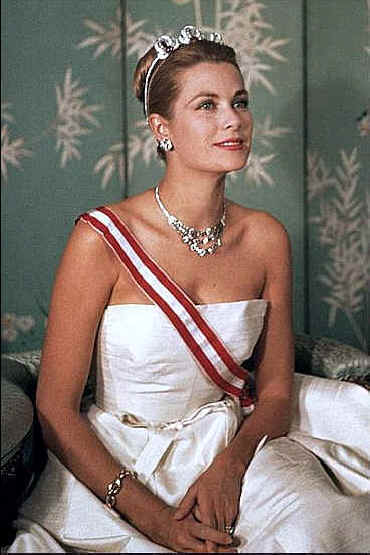 Princess Grace in her princess finery