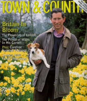 Prince Charles on the cover of Tattler