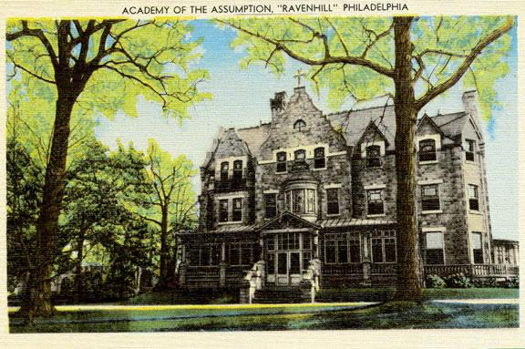 Ravenhill c. 1940 (Via Phila.edu)
