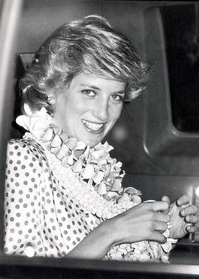Diana gets into the spirit of Aloha (via Pinterest)