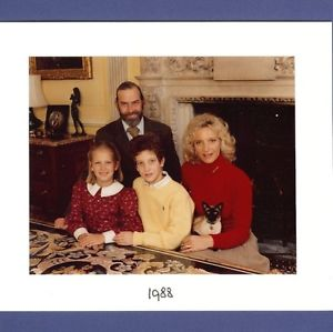 The Kents 1988 Christmas Card (via eBay)