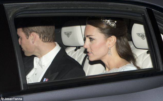 William is looking good, too (via the Daily Mail)