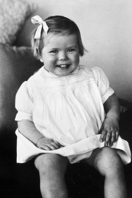 Grace as a wee tot (via Marie Claire)