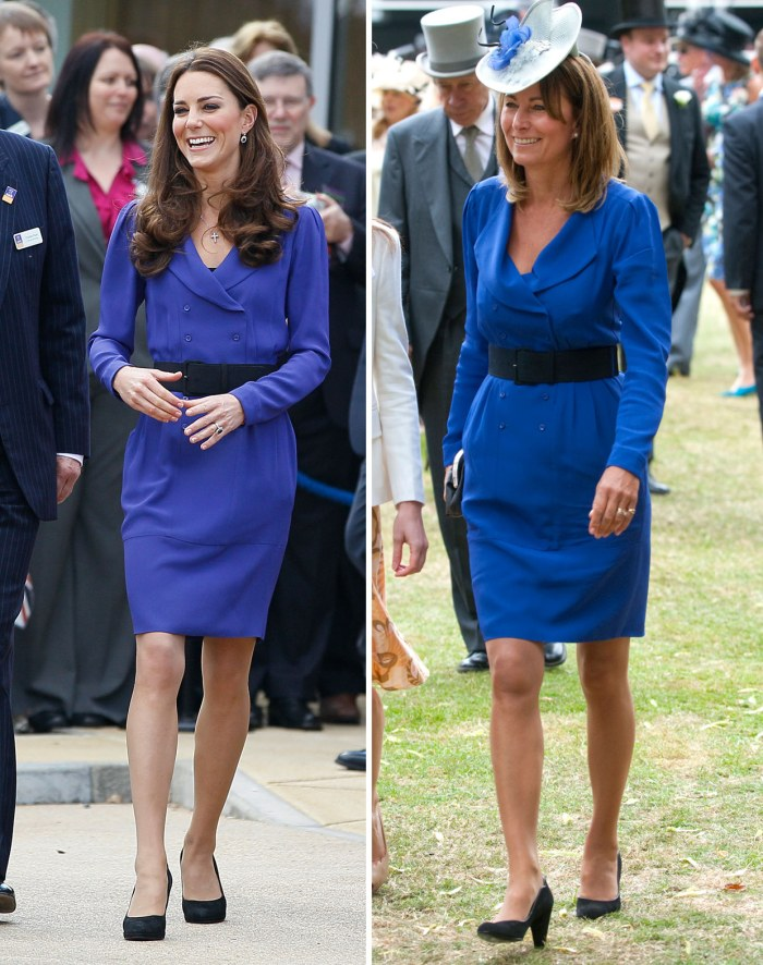 Kate & Carole in Reiss (via Parade.com)