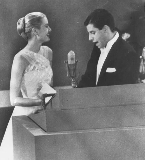 Grace & Jerry at the Oscars in 1956
