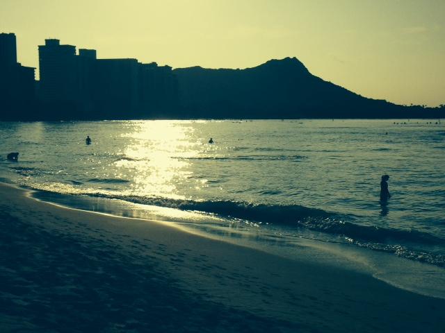 Waikiki Beach NYE 2013