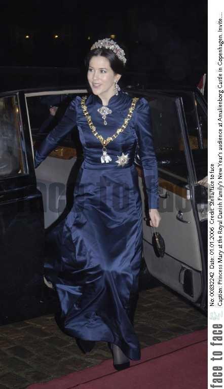 Princess Mary in Blue (via )