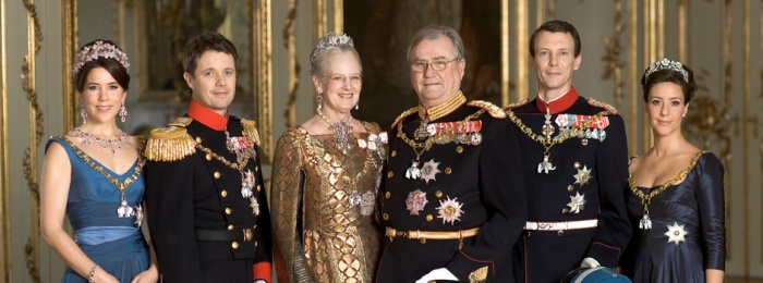 Queen Margrethe and Family (via )