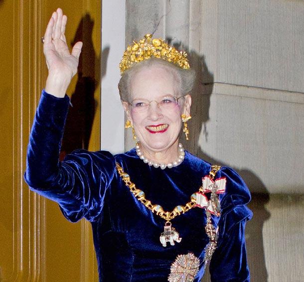 Queen  Margrethe (via Hello!)