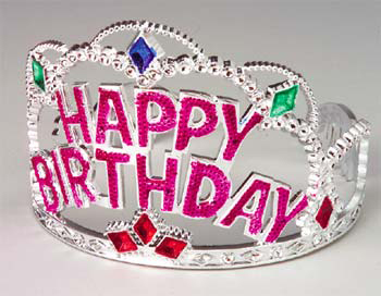 Because everyone deserves a birthday tiara (via Ideas by Blog)