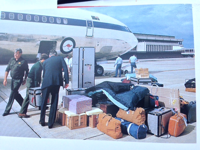 The Prince and Princess of Wales' luggage