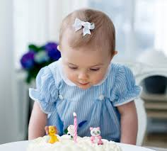 Princess Estelle turns one (via Kungahuset.se)