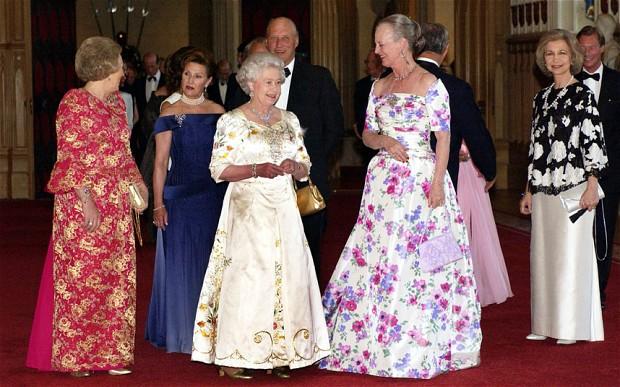 I spy 4 Queens (via The Telegraph)