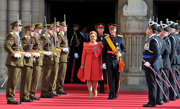 The Grand Duke & Duchess at their son's wedding (via Zimbio)