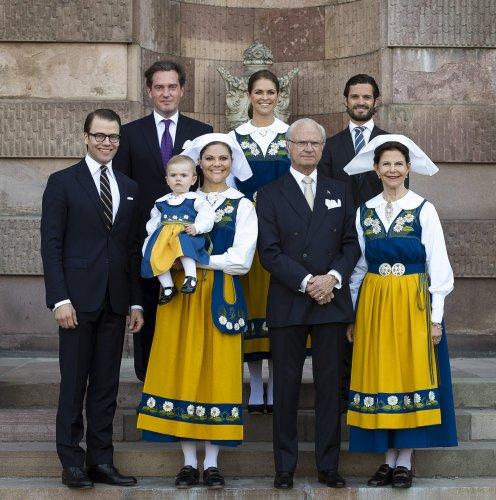 The Swedish Royal Family (via )