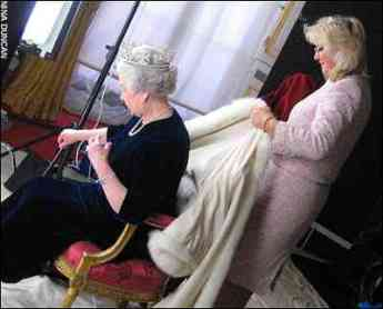 Behind the Scenes: the Queen and Angela Kelly (via The Telegraph)