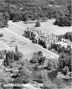 An aerial view of Sandringham circa 1949 (source)