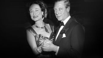 The Duke & Duchess of Windsor have a twirl on New Years Eve 1949 (source)
