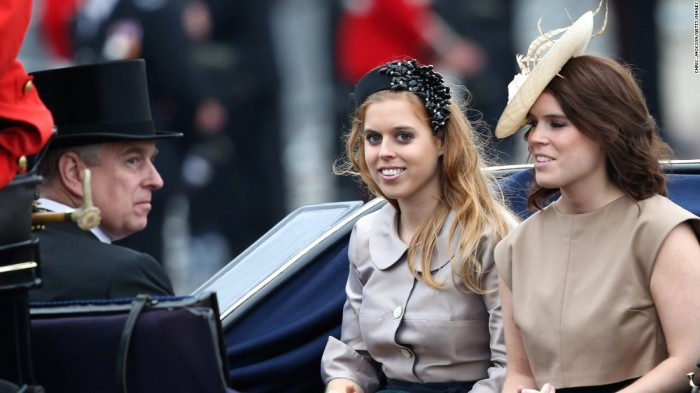 Princess Beatrice & Princess Eugenie (source)