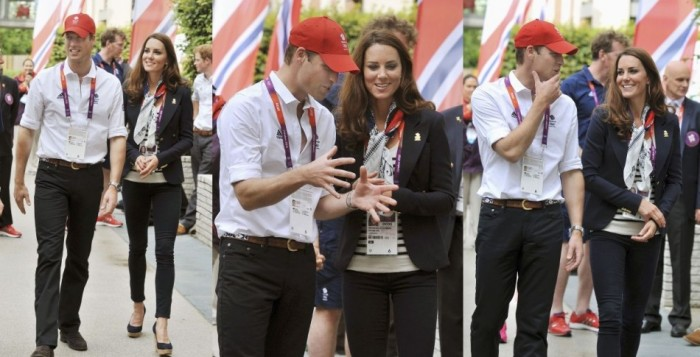 William & Kate tour the Athlete's Village (source)
