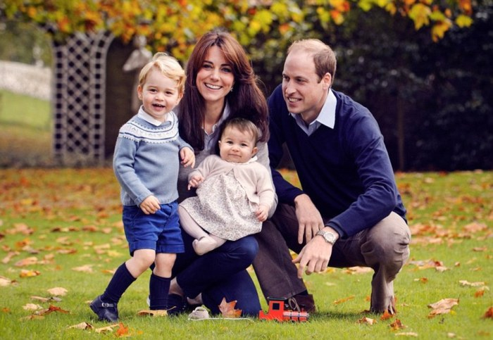 The Cambridges en Famille (source)