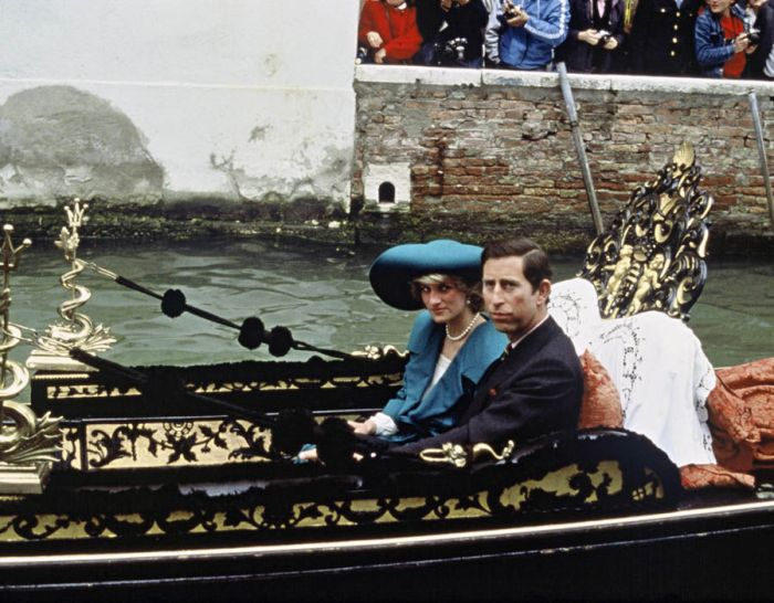 The Princes and Princess of Wales in Venice (source)