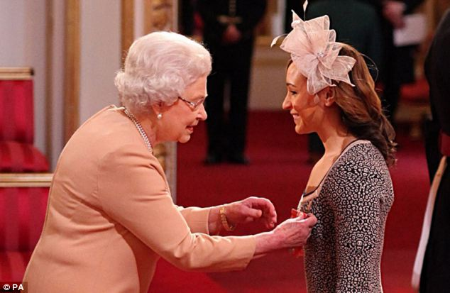 The Queen awards (source)